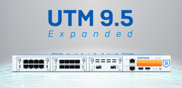 Sophos UTM 9.5 - schnelle und flexible Security im Unternehmen